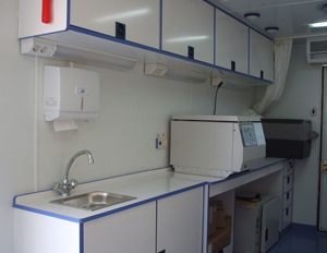 Box Type Mobile Health Care Vehicle