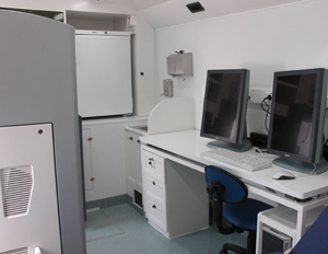 Mobile Pulmonary - Cardiology Screening Vehicle