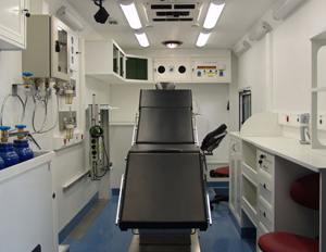 ICU and Surgery Vehicle